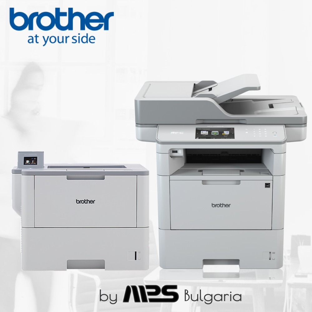 Серията Brother L6000 с лице към едрия бизнес