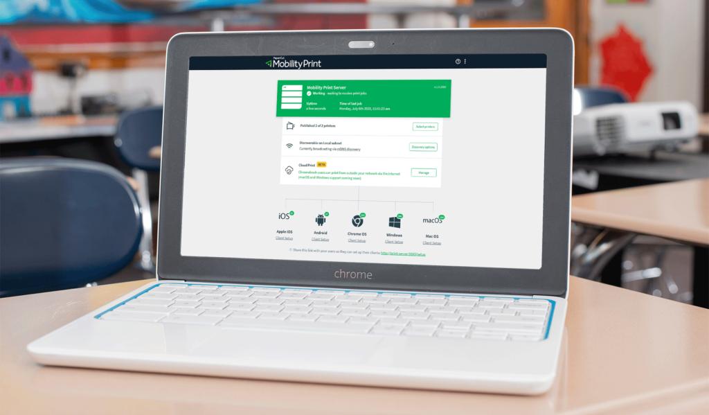 Как да настроите отдалечен печат на Chromebook