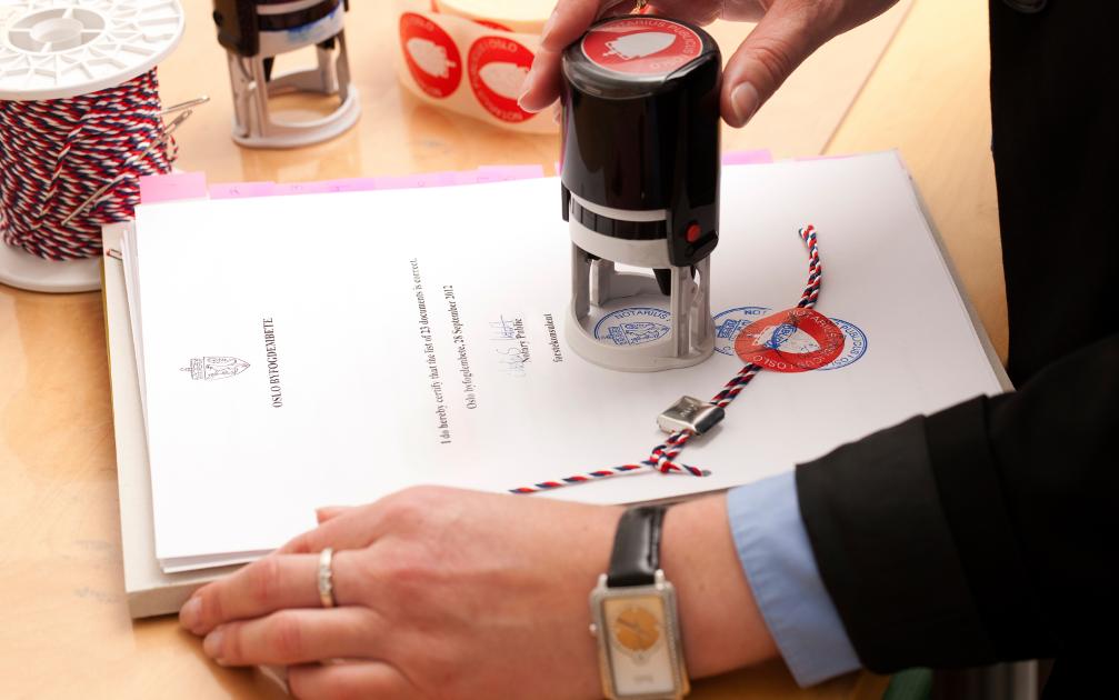 Защо печатът в нотариалната кантора е важен?